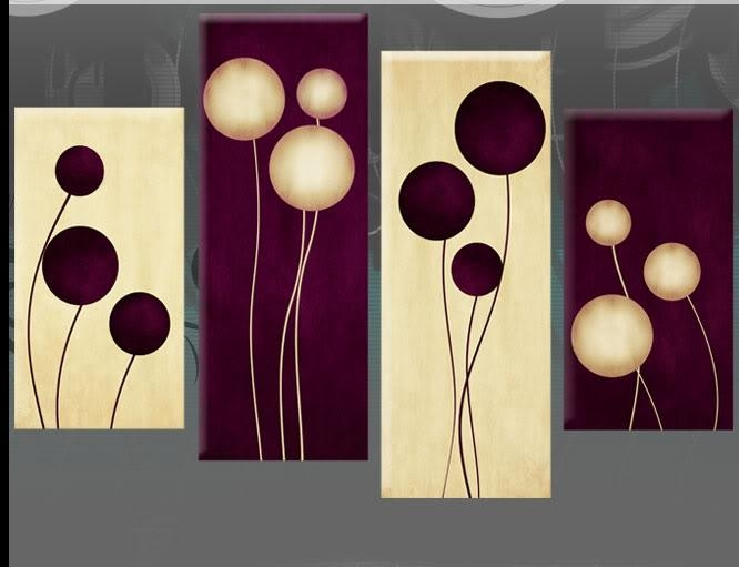 Plum Wall Art Superb Metal Wall Art For Large Canvas Wall Art Regarding Plum Coloured Wall Art (Image 9 of 20)