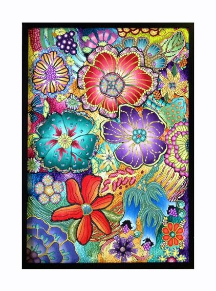Polymer Clay Wall Art – Flowers « Polymer Clay Etc (View 8 of 20)