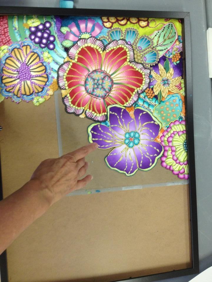 Polymer Clay Wall Art – Flowers « Polymer Clay Etc (View 5 of 20)