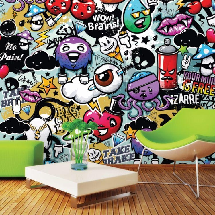 Pop Art & Graffiti | Plasticbanners Throughout Pop Art Wallpaper For Walls (View 18 of 20)