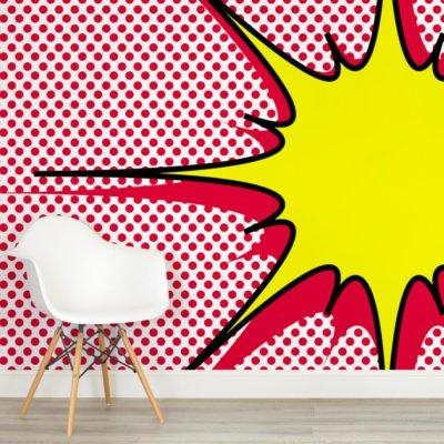 Pop Art Wallpaper & Wall Murals | Murals Wallpaper With Regard To Pop Art Wallpaper For Walls (View 10 of 20)
