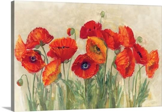 Poppy Wall Art Easy Metal Wall Art For Wooden Wall Art – Home With Metal Poppy Wall Art (View 17 of 20)