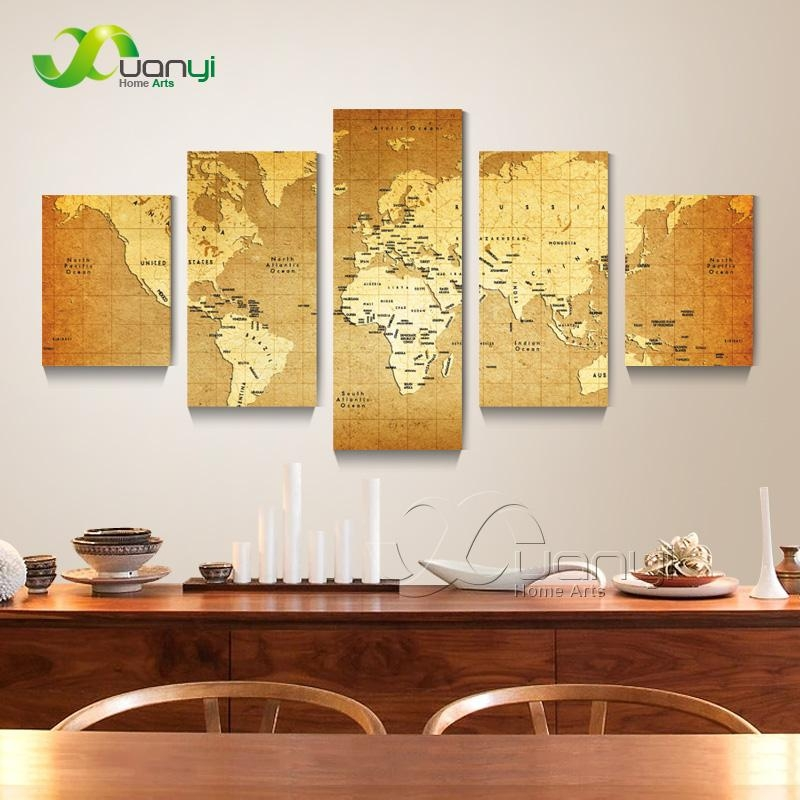 Popular Atlas Wall Art Buy Cheap Atlas Wall Art Lots From China Throughout Atlas Wall Art (View 2 of 20)