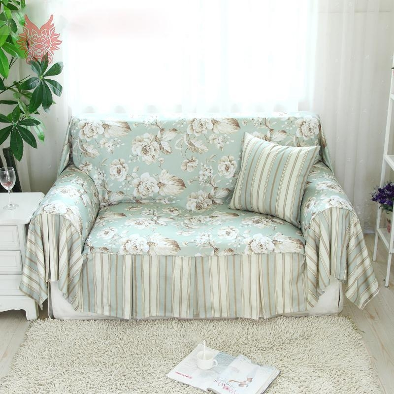 Popular Floral Slipcovers Buy Cheap Floral Slipcovers Lots From Throughout Floral Slipcovers (View 2 of 20)