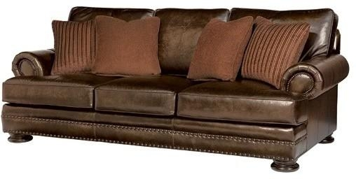 Popular Foster Leather Sofa With Bernhardt Foster Leather Sofa Inside Foster Leather Sofas (View 4 of 20)