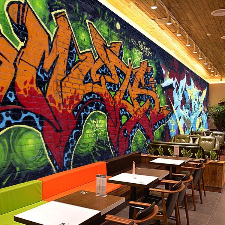 Popular Graffiti Street Wallpaper Mural Buy Cheap Graffiti Street Intended For Personalized Graffiti Wall Art (Image 18 of 20)