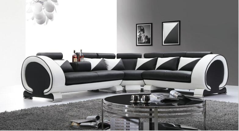 Popular Leather Couches Buy Cheap Leather Couches Lots From China Throughout Black And White Leather Sofas (Image 18 of 20)