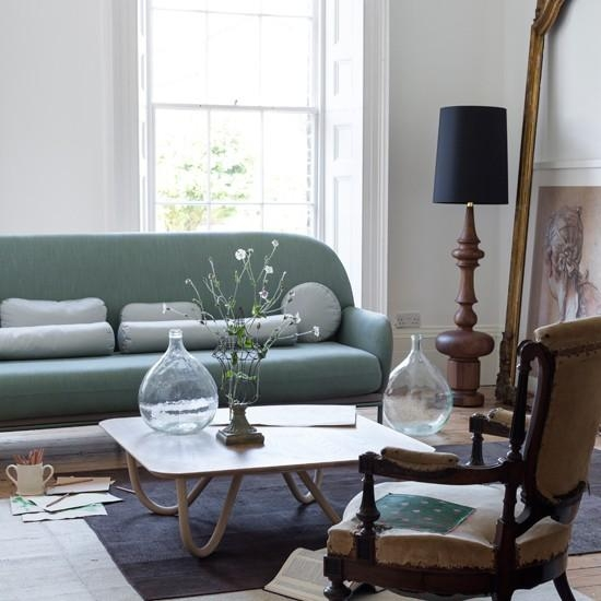 Popular Of Modern Living Room Furniture Uk Modern Living Room With Pertaining To Mint Green Sofas (View 17 of 20)