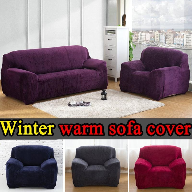 Popular Sofa Covers Black Buy Cheap Sofa Covers Black Lots From Throughout Black Sofa Slipcovers (Image 13 of 20)