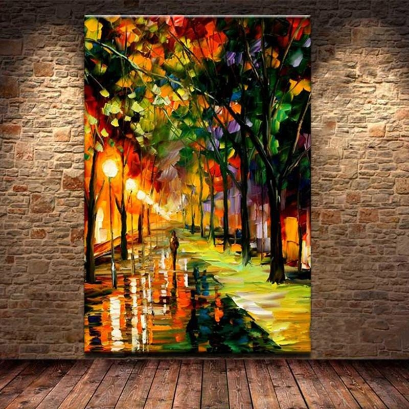 Popular Street Scene Wall Art Buy Cheap Street Scene Wall Art Lots For Street Scene Wall Art (Image 16 of 20)