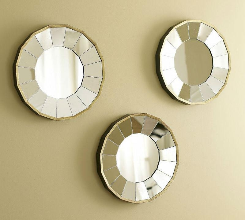 Popular Wall Mirrors Round Buy Cheap Wall Mirrors Round Lots From For Mirror Circles Wall Art (Image 14 of 20)