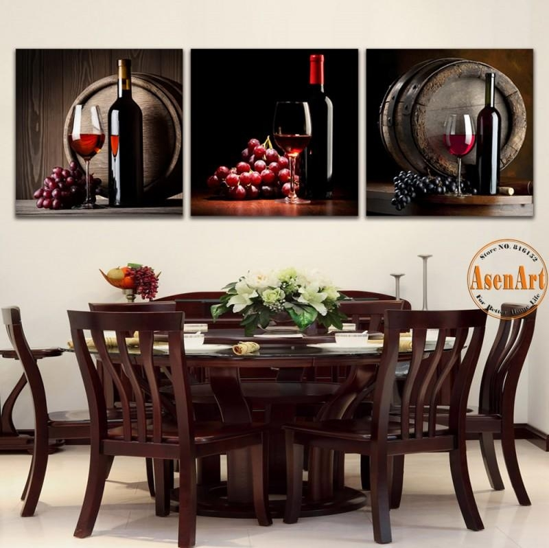 Popular Wine Grape Pictures Buy Cheap Wine Grape Pictures Lots Inside Grape Wall Art (Image 17 of 20)