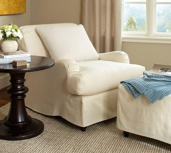 Pottery Barn Chair Slipcovers | Prince Furniture Intended For Pottery Barn Chair Slipcovers (View 9 of 20)