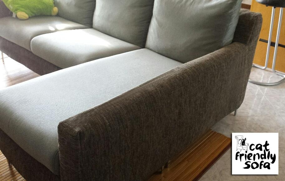 Powerful Cover Against Cat's Scratching | Cat Friendly Sofa Regarding Pet Proof Sofa Covers (Image 11 of 20)