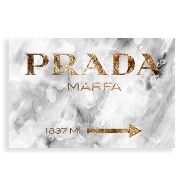 Prada Marfa 1837 Wall Art Social Canvas Other With Regard To Prada Wall Art (View 3 of 20)