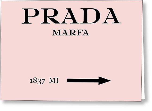 Prada Marfa Mileage Distance Digital Artedit Voros Pertaining To Prada Marfa Wall Art (Image 12 of 20)