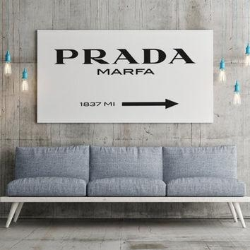 Prada Marfa Print Prada Marfa Art Prada From Bluebookdesign On Pertaining To Prada Marfa Wall Art (Image 13 of 20)