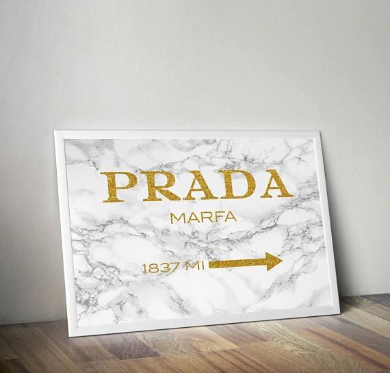 Prada Prada Marble Gold Prada Prada Wall Art Fashion For Prada Wall Art (Image 15 of 20)
