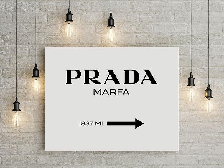 Prada Prada Marfa Prada Marfa Canvas Prada Marfa Print With Regard To Prada Marfa Wall Art (Image 16 of 20)
