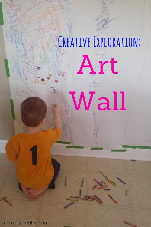 Preschool Art: Art Wall Intended For Preschool Wall Art (View 6 of 20)