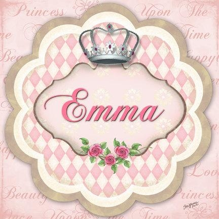Princess Crown Nursery Art Baby Girls Nursery Canvas Art Pertaining To Princess Crown Wall Art (Image 14 of 20)
