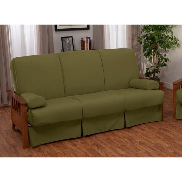 Provo Perfect Sit & Sleep Mission Style Pillow Top Full Size Sofa In Full Size Sofa Beds (View 6 of 20)