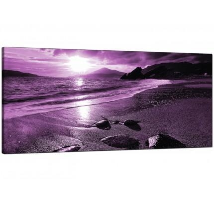 Purple Canvas Pictures Prints & Wall Art – Free Delivery Regarding Purple Canvas Wall Art (Image 16 of 20)