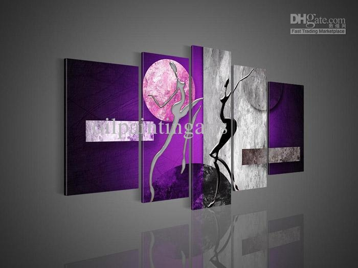 Purple Canvas Wall Art | Roselawnlutheran Pertaining To Purple Wall Art Canvas (Image 12 of 20)
