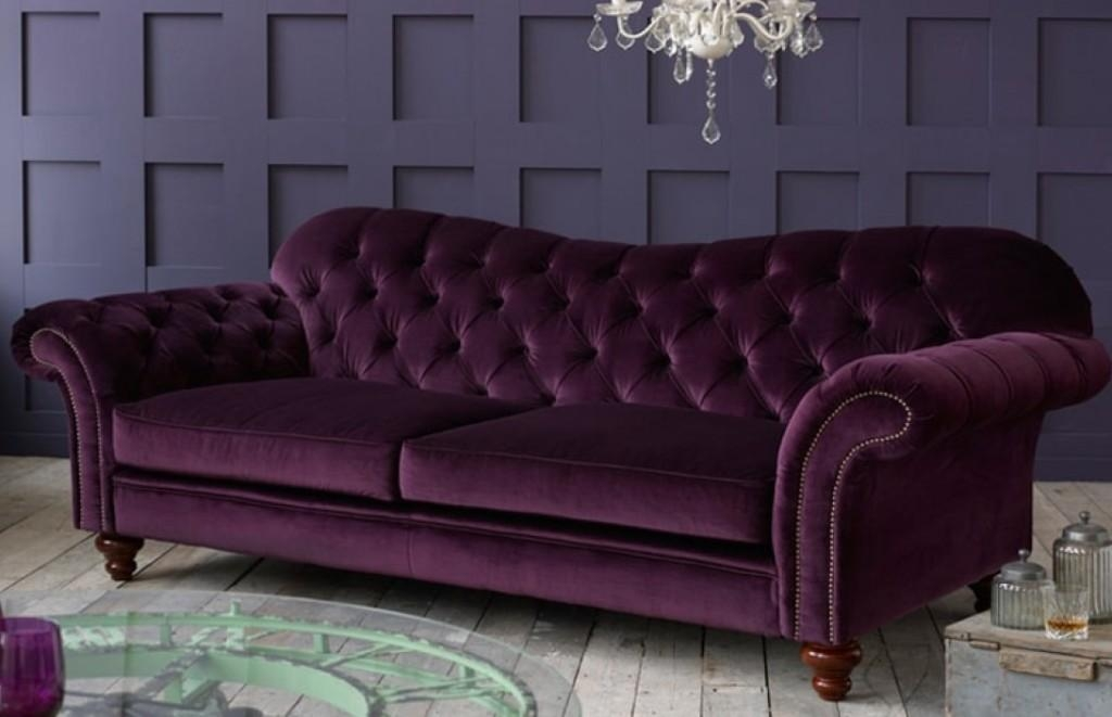 Purple Chesterfield Sofa – Leather Sectional Sofa Within Purple Chesterfield Sofas (Image 15 of 20)
