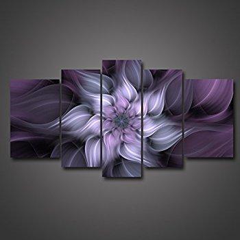 Purple Flower Wall Art Metal Wall Art For Metal Tree Wall Art For Purple Flower Metal Wall Art (View 7 of 20)