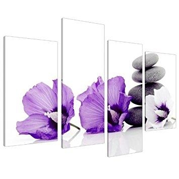 Purple Flower Wall Art Metal Wall Art For Metal Tree Wall Art Intended For Purple Flower Metal Wall Art (Image 14 of 20)