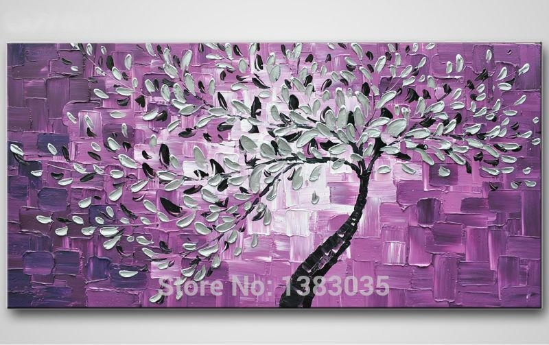 Purple Wall Art | Roselawnlutheran Inside Purple Wall Art (Image 15 of 20)