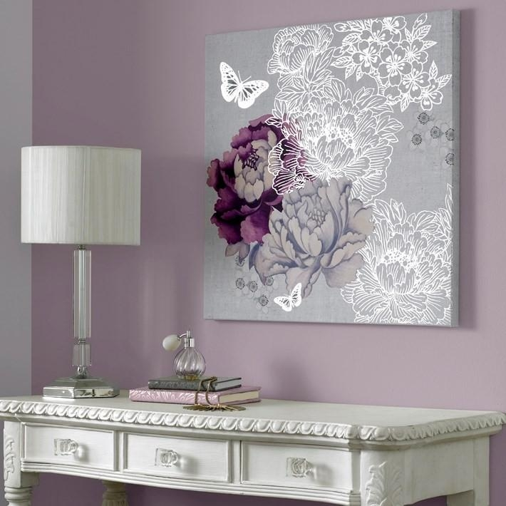 Purple Wall Pictures – Foter In Aubergine Wall Art (Image 19 of 20)