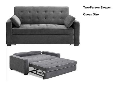 Queen Sofa Bed Dimensions | Nyfarms Regarding Queen Size Convertible Sofa Beds (Image 17 of 20)
