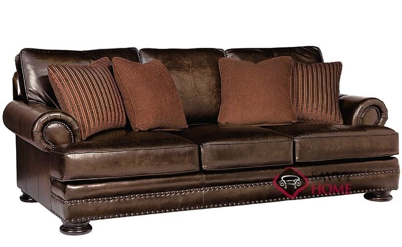 Quick Ship Fosterbernhardt Leather Sofa Inbernhardt With Regarding Foster Leather Sofas (View 7 of 20)
