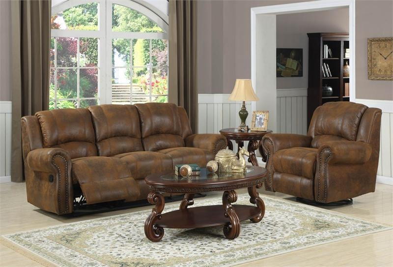 Quinn Bomber Jacket Microfiber Recliner Collection Within Bomber Leather Sofas (Image 16 of 20)