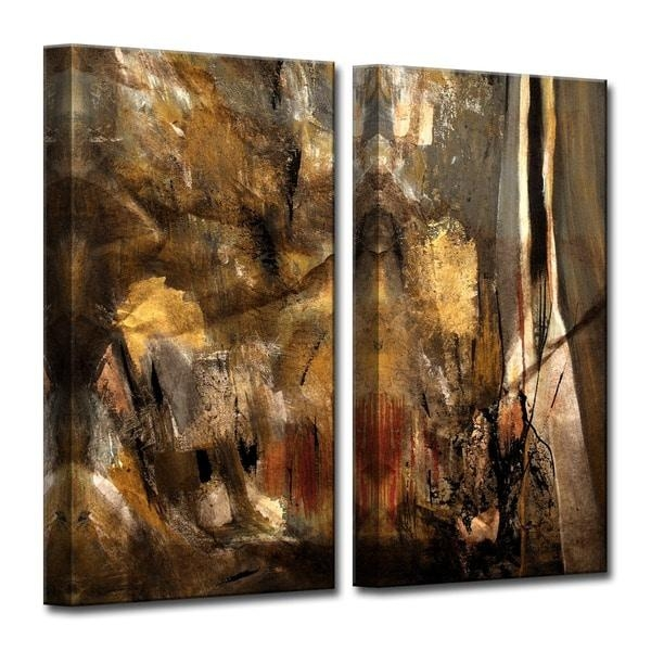 Ready2Hangart 'etabx I' 2 Piece Abstract Oversized Canvas Wall Art Regarding Huge Canvas Wall Art (View 11 of 20)