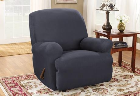 Recliner Slipcovers | Wing Chair Recliner Slipcovers | Covers For Within Stretch Covers For Recliners (Image 12 of 20)