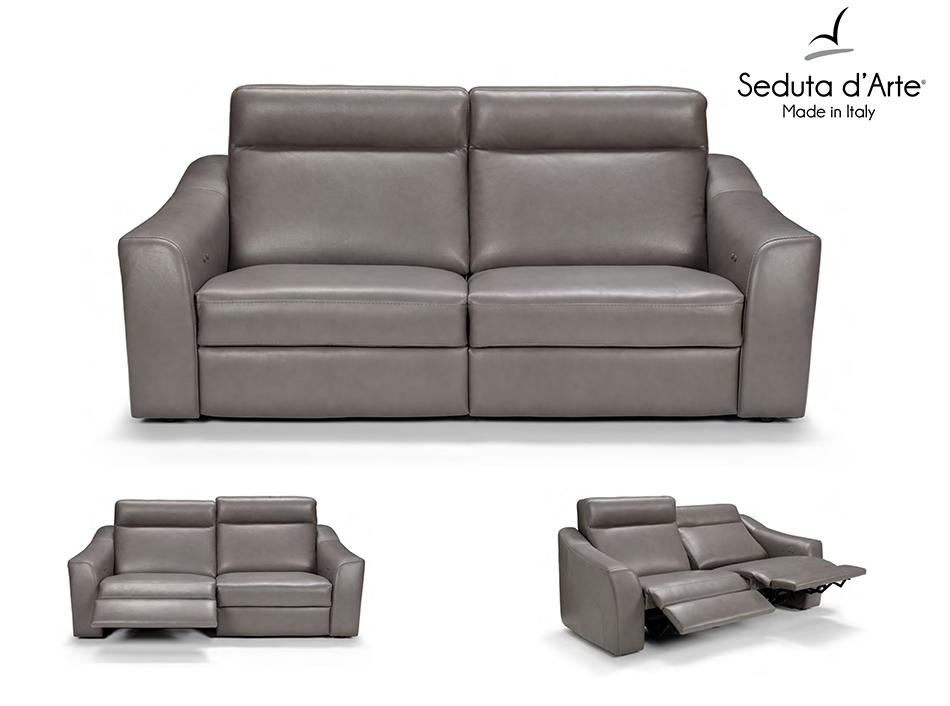 Recliner Sofa Kellyseduta D'arte Italy Throughout Italian Recliner Sofas (View 3 of 20)