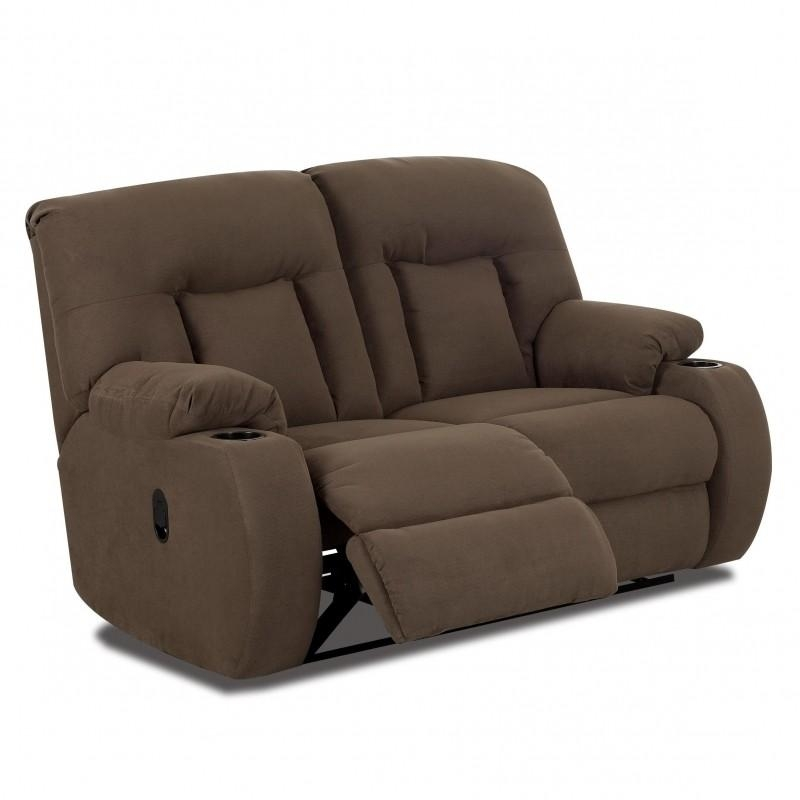 Reclining Loveseats With Cup Holders – Foter Intended For Sofas With Drink Holder (Image 15 of 20)