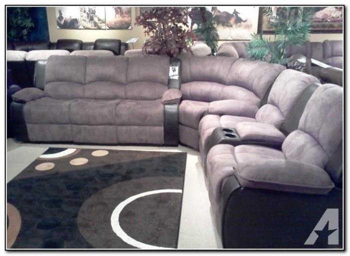 Reclining Sectional Sofas With Cup Holders – Sofa : Home Design Intended For Sofas With Cup Holders (Image 14 of 20)