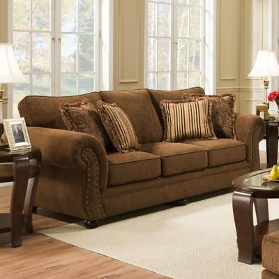 Red Barrel Studio Simmons Upholstery Stuart Sofa & Reviews | Wayfair Within Simmons Sofas (Image 11 of 20)