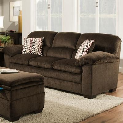 Red Barrel Studio Simmons Upholstery Sutton Sofa & Reviews | Wayfair In Simmons Sofas (Image 12 of 20)