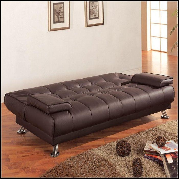Red Faux Leather Sleeper Sofa – Sofa : Home Furniture Ideas Throughout Faux Leather Sleeper Sofas (View 13 of 20)