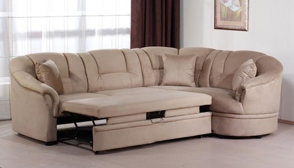 Red Microfiber Sectional Sofa – S3Net – Sectional Sofas Sale In Microsuede Sofa Beds (Image 17 of 20)