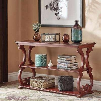 Red – Sofa Tables – Accent Tables – The Home Depot For Red Sofa Tables (Image 7 of 20)