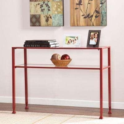 Red – Sofa Tables – Accent Tables – The Home Depot With Red Sofa Tables (Image 10 of 20)