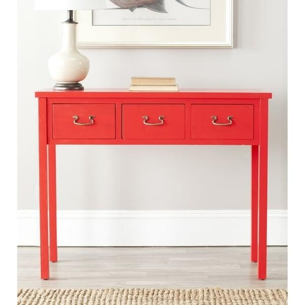 Red Sofa Tables & Console Tables Pertaining To Red Sofa Tables (Image 14 of 20)