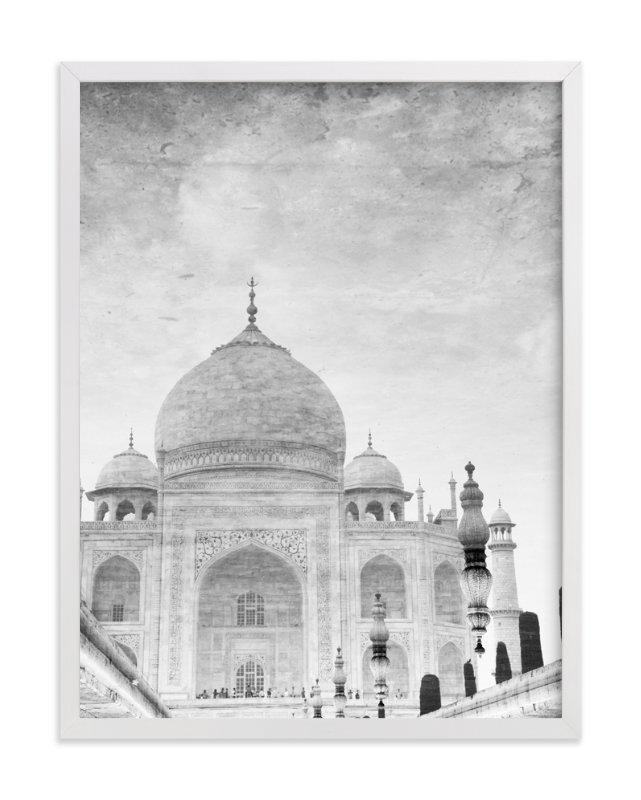 Reflection Of The Taj Mahal Wall Art Printsheather Marie | Minted Inside Taj Mahal Wall Art (Image 10 of 20)