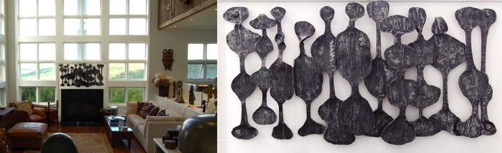 Reliefs And Wall Artdimitri Gerakaris For African Metal Wall Art (View 7 of 20)